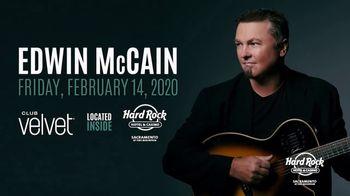 Hard Rock Hotels & Casinos Sacramento TV Spot, '2020 Edwin McCain' Song by Edwin McCain