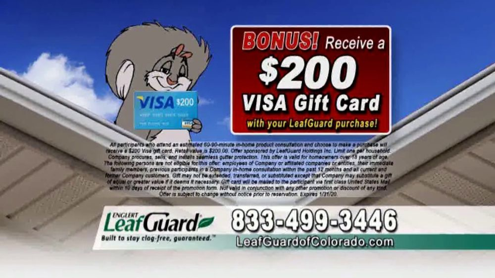 LeafGuard of Colorado 99 Cent Install Sale TV Commercial, 'Icy Cold Water'