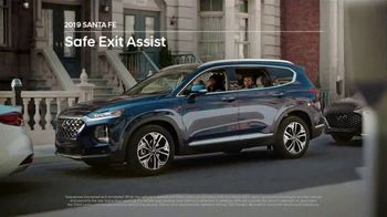 Hyundai Santa Fe TV Spot, 'Safe Exit Assist' [T2] - 108 commercial airings