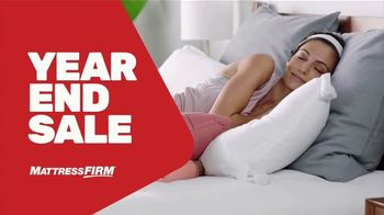 Mattress Firm Year End Sale TV Spot, 'Free Adjustable Base' - Thumbnail 1