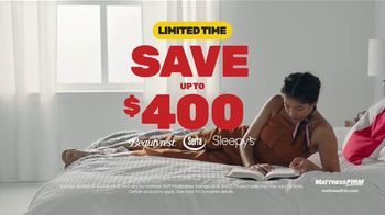 Mattress Firm Year End Sale TV Spot, 'Free Adjustable Base' - Thumbnail 2