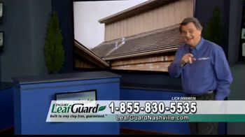 LeafGuard Nashville 99 Cent Install Sale TV Spot, 'Ladder Related Injuries' - Thumbnail 1
