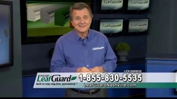LeafGuard Nashville 99 Cent Install Sale TV Spot, 'Ladder Related Injuries'