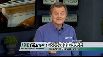 LeafGuard Nashville 99 Cent Install Sale TV Spot, 'Ladder Related Injuries' - Thumbnail 6