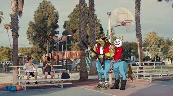 Jack in the Box Triple Bonus Jack TV Spot, 'Menutauro: cancha de baloncesto' [Spanish] - Thumbnail 7