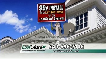LeafGuard of DC 99 Cent Install Sale TV Spot, 'Winter Weather' - Thumbnail 6