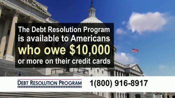 Debt Resolution Program TV Spot, 'Special Announcements: Credit Card Debt'
