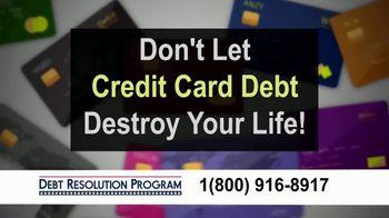 Debt Resolution Program TV Spot, 'Special Announcements: Credit Card Debt' - Thumbnail 5