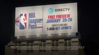 NBA League Pass TV Spot, 'Shout It: DIRECTV Free Preview' Song by VideoHelper - Thumbnail 5