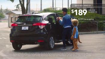 2019 Honda HR-V TV Spot, 'Winning on the Road' [T2] - Thumbnail 7