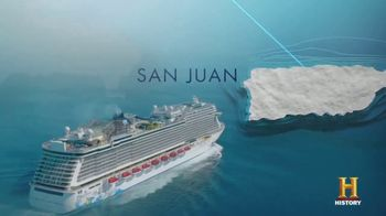Norwegian Cruise Line TV Spot, 'History Channel: Where to Next'
