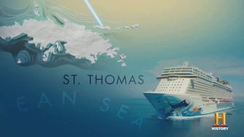 Norwegian Cruise Line TV Spot, 'History Channel: Where to Next' - Thumbnail 3