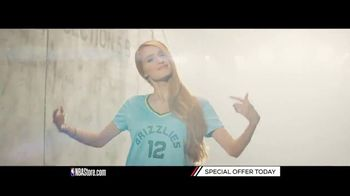NBA Store TV Spot, 'Special Offer: Pelicans and Grizzlies Fans' - Thumbnail 1