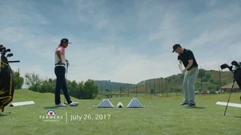 Farmers Insurance TV Spot, 'Hall of Claims: Denting Range' Featuring Rickie Fowler