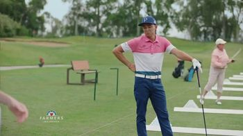 Farmers Insurance TV Spot, 'Hall of Claims: Denting Range' Featuring Rickie Fowler - Thumbnail 3