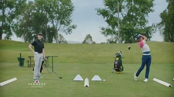Farmers Insurance TV Spot, 'Hall of Claims: Denting Range' Featuring Rickie Fowler - Thumbnail 4