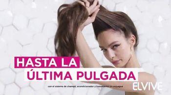 L'Oreal Paris Elvive Dream Lengths TV Spot, 'Para cabello largo y saludable' [Spanish] - Thumbnail 7