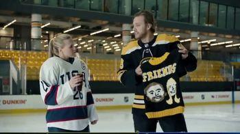 Dunkin' TV Spot, 'Talkin' Hockey: Sweater' Feat. Kendall Coyne Schofield, David Pastrňák - Thumbnail 6
