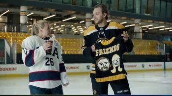 Dunkin' TV Spot, 'Talkin' Hockey: Sweater' Feat. Kendall Coyne Schofield, David Pastrňák - Thumbnail 8