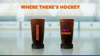 Dunkin' TV Spot, 'Talkin' Hockey: Sweater' Feat. Kendall Coyne Schofield, David Pastrňák - Thumbnail 9