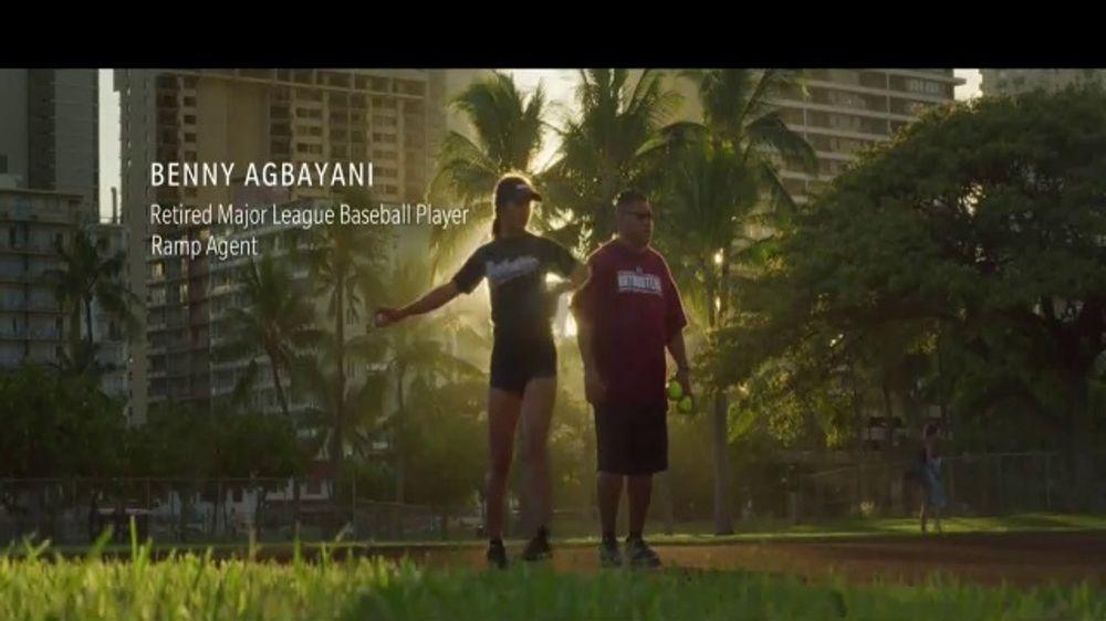 Hawaiian Airlines TV Commercial, 'Heart of Hawaiian: Benny Agbayani'