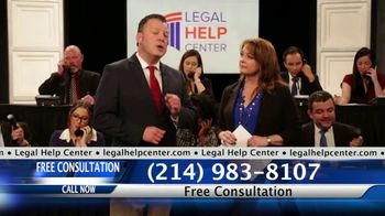 Legal Help Center TV Spot, 'Injured in an Accident'