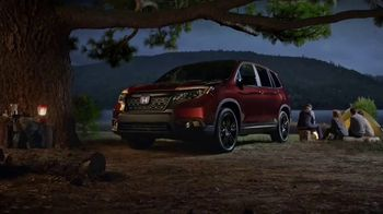 2019 Honda Passport TV Spot, 'Built for Campouts' [T2] - 877 commercial airings
