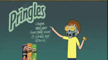 Pringles Super Bowl 2020 Teaser, 'Rick and Morty: Three-Layer Dip Stack'