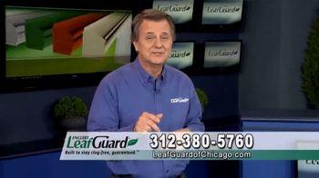 LeafGuard of Chicago 99 Cent Install Sale TV Spot, 'Clog-Free Guarantee' - Thumbnail 9