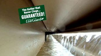 LeafGuard of Chicago 99 Cent Install Sale TV Spot, 'Clog-Free Guarantee' - Thumbnail 1