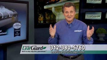 LeafGuard of Chicago 99 Cent Install Sale TV Spot, 'Clog-Free Guarantee' - Thumbnail 4