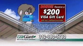 LeafGuard of Chicago 99 Cent Install Sale TV Spot, 'Clog-Free Guarantee' - Thumbnail 6