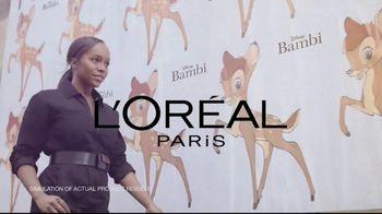 L'Oreal Paris Cosmetics Bambi Eye Mascara TV Spot, 'Eye Opening Results' Featuring Aja Naomi King - Thumbnail 2