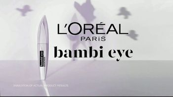L'Oreal Paris Cosmetics Bambi Eye Mascara TV Spot, 'Eye Opening Results' Featuring Aja Naomi King - Thumbnail 3
