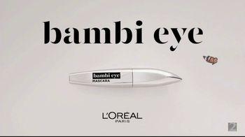 L'Oreal Paris Cosmetics Bambi Eye Mascara TV Spot, 'Eye Opening Results' Featuring Aja Naomi King - Thumbnail 9