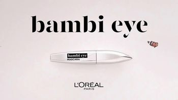 L'Oreal Paris Cosmetics Bambi Eye Mascara TV Spot, 'Abre los ojos' [Spanish] - Thumbnail 8