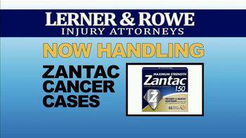 Lerner & Rowe TV Spot, 'Car Wrecks Don't Keep Regular Business Hours: Zantac Cases' - Thumbnail 6