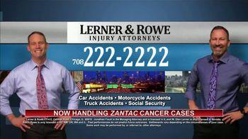 Lerner & Rowe TV Spot, 'Car Wrecks Don't Keep Regular Business Hours: Zantac Cases' - Thumbnail 4
