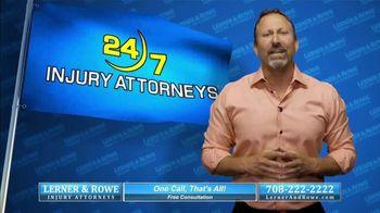 Lerner & Rowe TV Spot, 'Car Wrecks Don't Keep Regular Business Hours: Zantac Cases' - Thumbnail 5