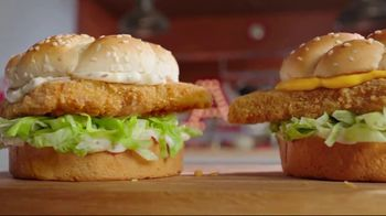 Arby's 2 for $6 Crispy Fish Sandwiches TV Spot, 'Fishing for Alaskan Pollock' Song by YOGI - Thumbnail 2