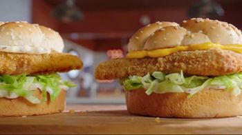 Arby's 2 for $6 Crispy Fish Sandwiches TV Spot, 'Fishing for Alaskan Pollock' Song by YOGI - Thumbnail 3