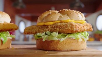 Arby's 2 for $6 Crispy Fish Sandwiches TV Spot, 'Fishing for Alaskan Pollock' Song by YOGI - Thumbnail 4