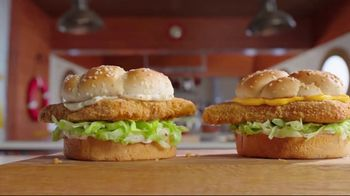 Arby's 2 for $6 Crispy Fish Sandwiches TV Spot, 'Fishing for Alaskan Pollock' Song by YOGI - Thumbnail 6