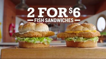 Arby's 2 for $6 Crispy Fish Sandwiches TV Spot, 'Fishing for Alaskan Pollock' Song by YOGI - Thumbnail 7