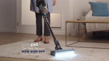 Bissell ICONpet Cordless Vacuum TV Spot, 'Inspired by Our Pets: $100 Off' - Thumbnail 5