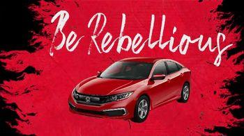 Honda TV Spot, 'Be Rebellious' [T2] - Thumbnail 7