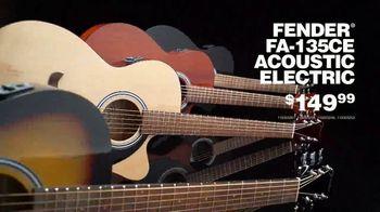 Guitar Center Black Friday Sale TV Spot, 'Fender Guitars and Pedals' - Thumbnail 5