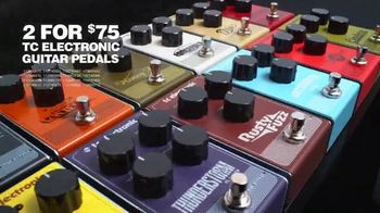 Guitar Center Black Friday Sale TV Spot, 'Fender Guitars and Pedals' - Thumbnail 9