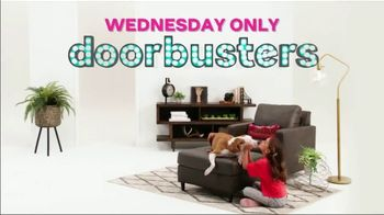 Ashley HomeStore Black Friday TV Spot, 'Early Doorbusters' Song by Midnight Riot - Thumbnail 3