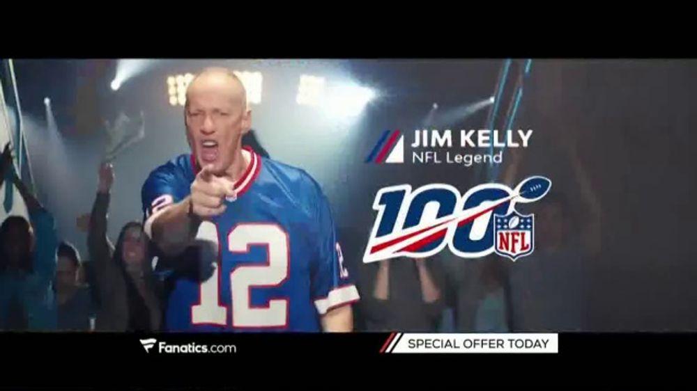 Fanatics.com TV Commercial, 'NFL Commemorating Its 100th Season'